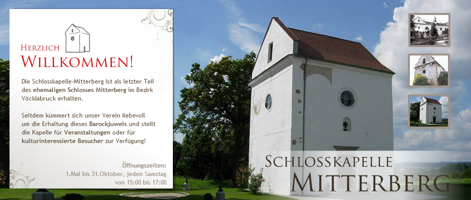 Konzert in der Schloßkapelle Mitterberg
