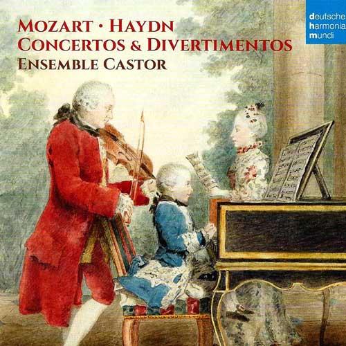Concertos Divertimentos, Mozart Haydn (album)