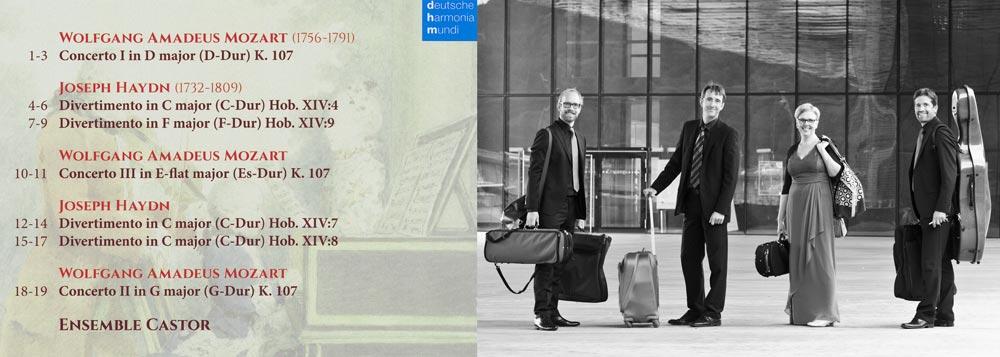 Concertos Divertimentos booklet