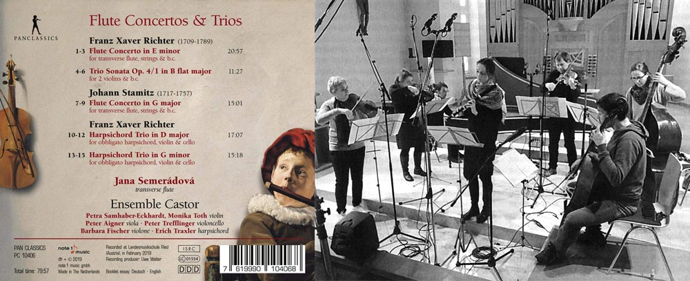 Flute Concertos and Trios booklet